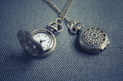 Vintage silver pocket watch sold at home jewellery business