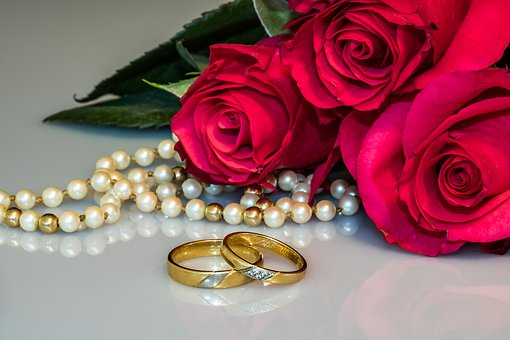 gold rings with roses and pearls jewellery upkeep